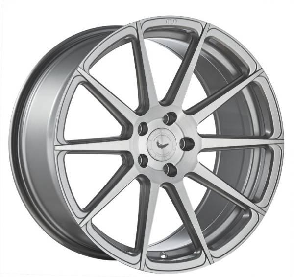 BARRACUDA PROJECT 2.0 silver brushed Felge 9x20 - 20 Zoll 5x120 Lochkreis