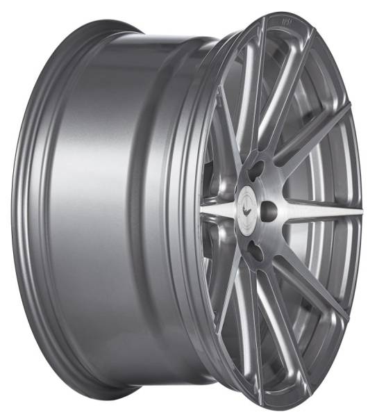 BARRACUDA PROJECT 2.0 Silver brushed Surface Felge 9x21 - 21 Zoll 5x114,3 Lochkreis