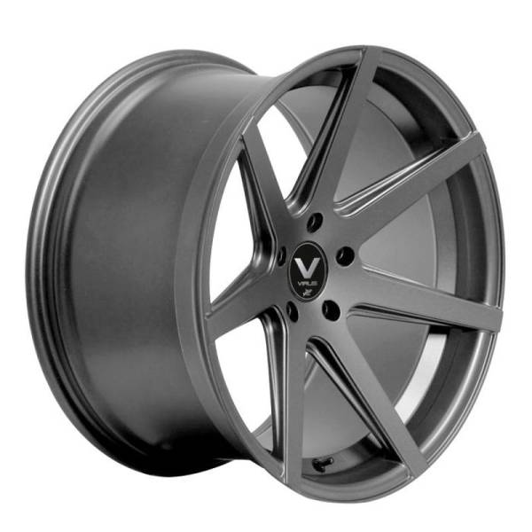 BARRACUDA VIRUS Gunmetal/ undercut Colour Trim gelb Felge 9x20 - 20 Zoll 5x112 Lochkreis