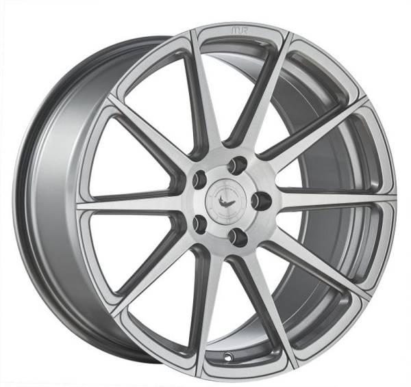 BARRACUDA PROJECT 2.0 silver brushed Felge 10,5x20 - 20 Zoll 5x120 Lochkreis